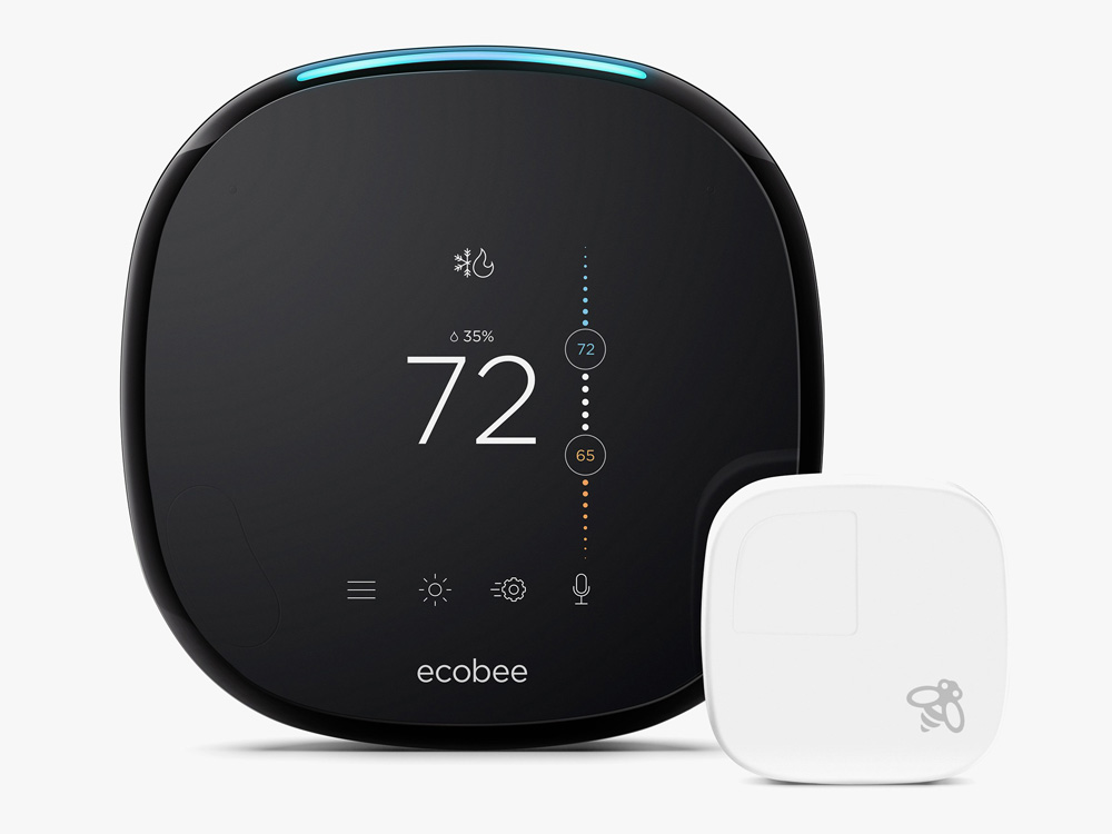 smart home ecobee4 with sensor 03